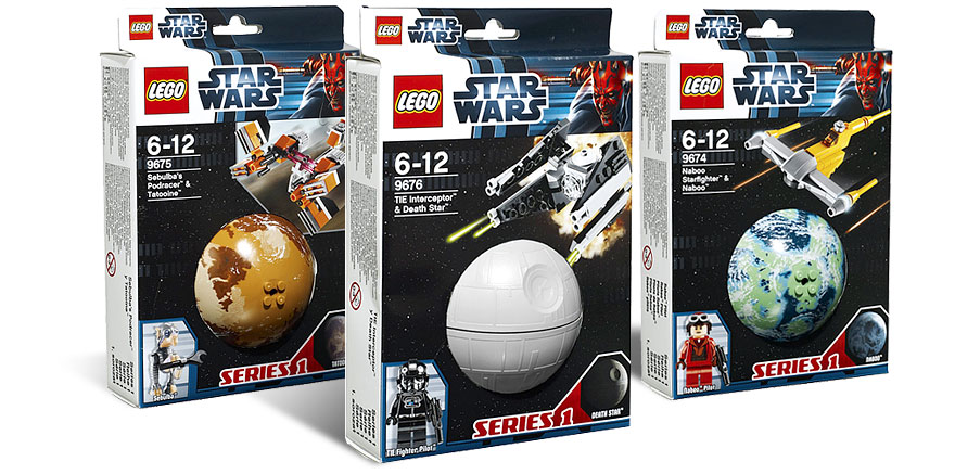 LEGO Star Wars Planet Series 1