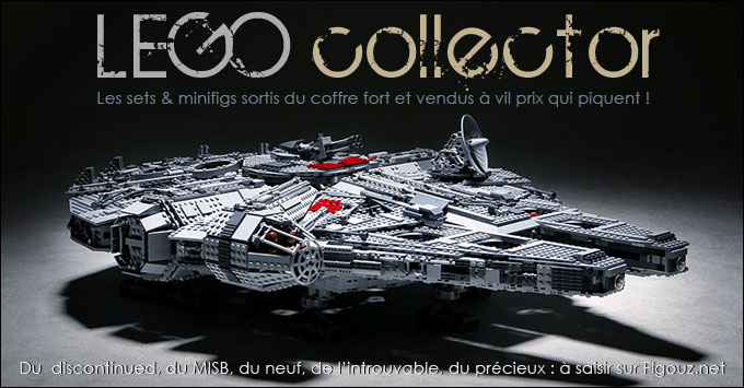 Les sets LEGO Collector en vente sur Figouz.net !