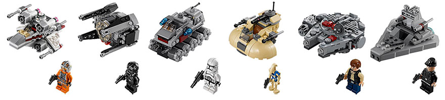 LEGO Stars Wars 2014 Microfighters