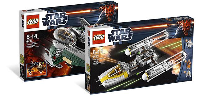 les sets lego star wars 9493 et 9495