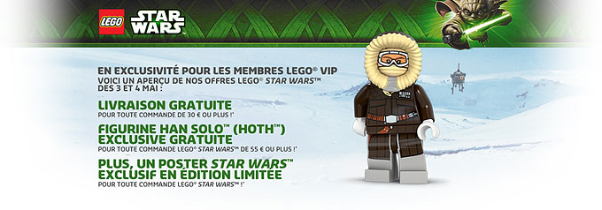 Profitez des promos LEGO May The Fourth !