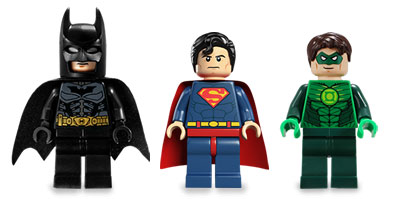 Minifigurines LEGO Super Heroes !