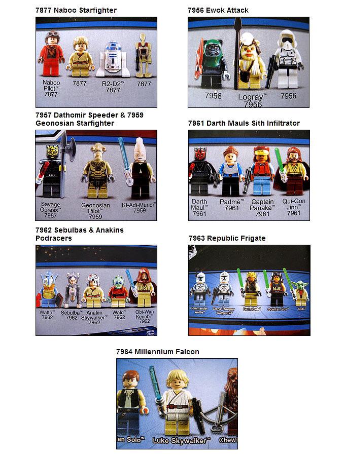 Nouveautés star wars second semestre 2011