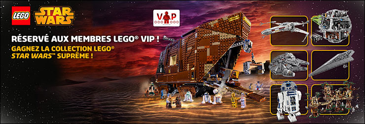 Le tirage au sort LEGO VIP de mai 2014 - May the Fourth !