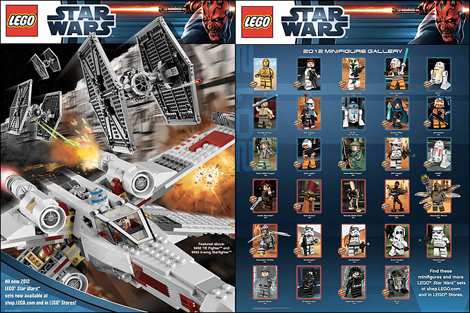 Poster LEGO Star Wars 2012
