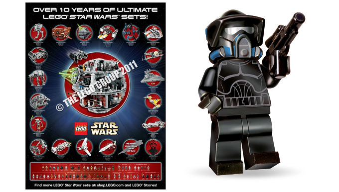 Promo exclusive LEGO - Poster et Minifigurine de Shadow Arf Trooper