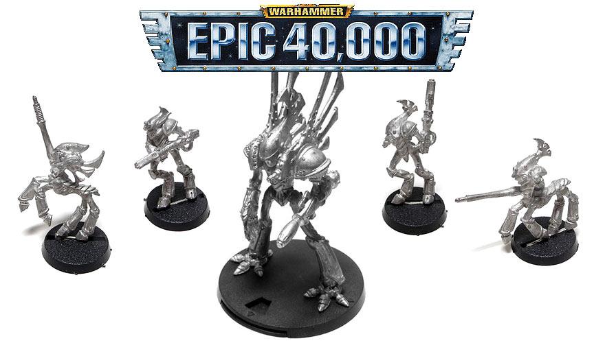 Recherche background et règles EA pour Chevaliers Eldars Epic-40000