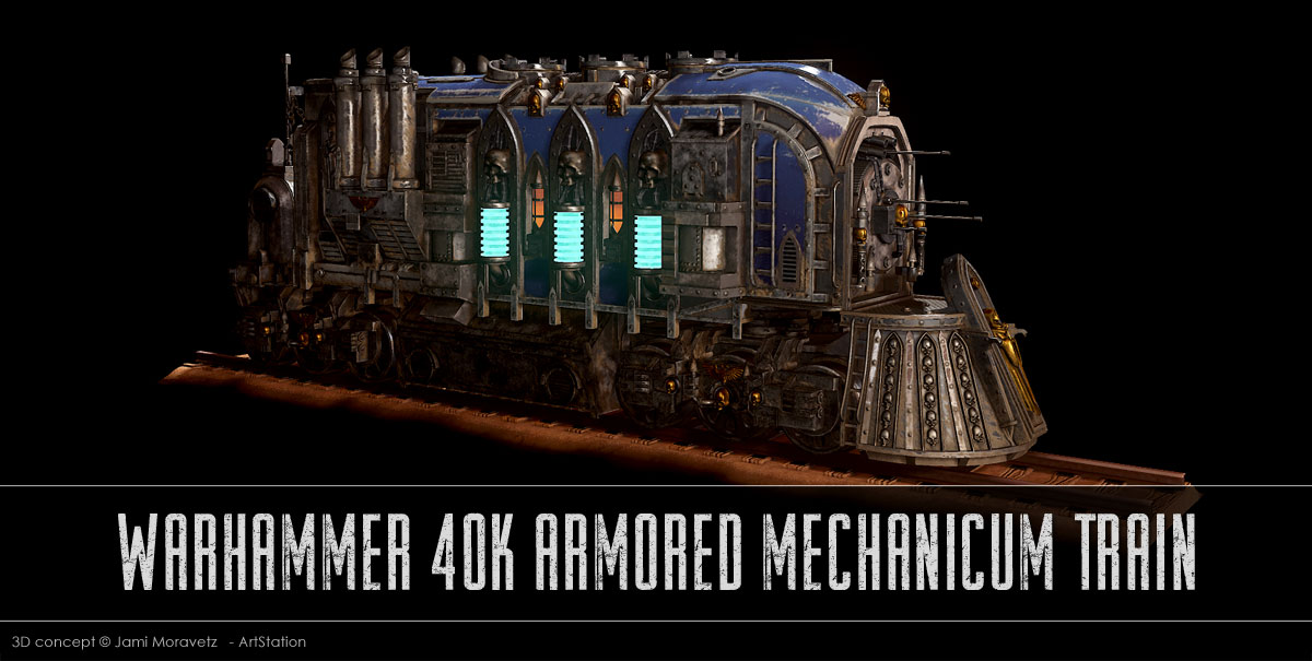 Train WH40K du Mechanicus !