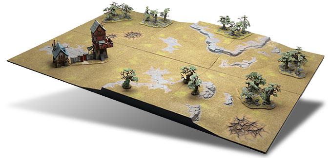 Peinture De La Table De Jeu Modulable Realm Of Battle Games Workshop