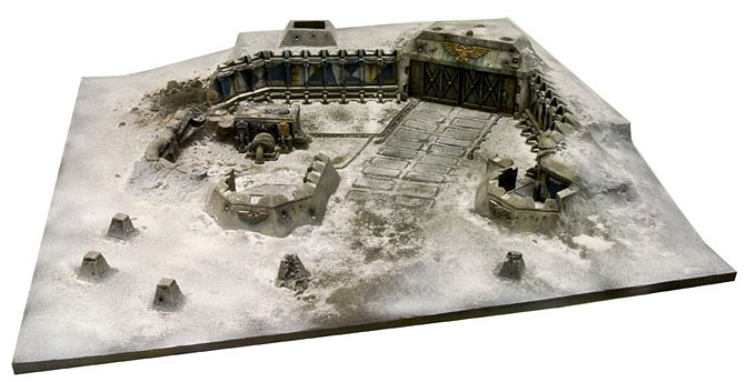 Imperial Strongpoint terrain board expansion par Forgeworld