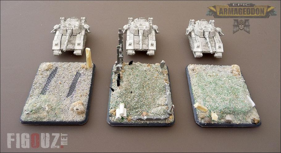 Death Korps Of Krieg (DKOK) - Peinture d'une armée EPIC Armageddon