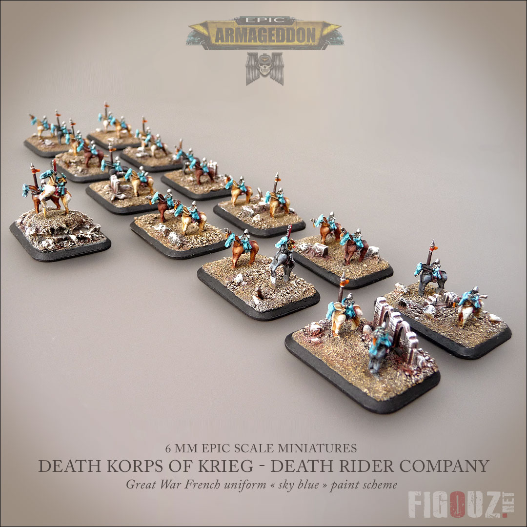 Death Riders Company - 300 points