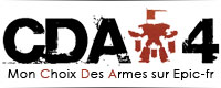 Le sujet dédié à mon Choix Des Armes 2014 sur Epic-fr