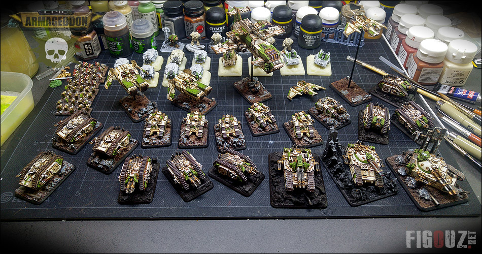 Death Guard 30K - 4 jours de painting marathon !