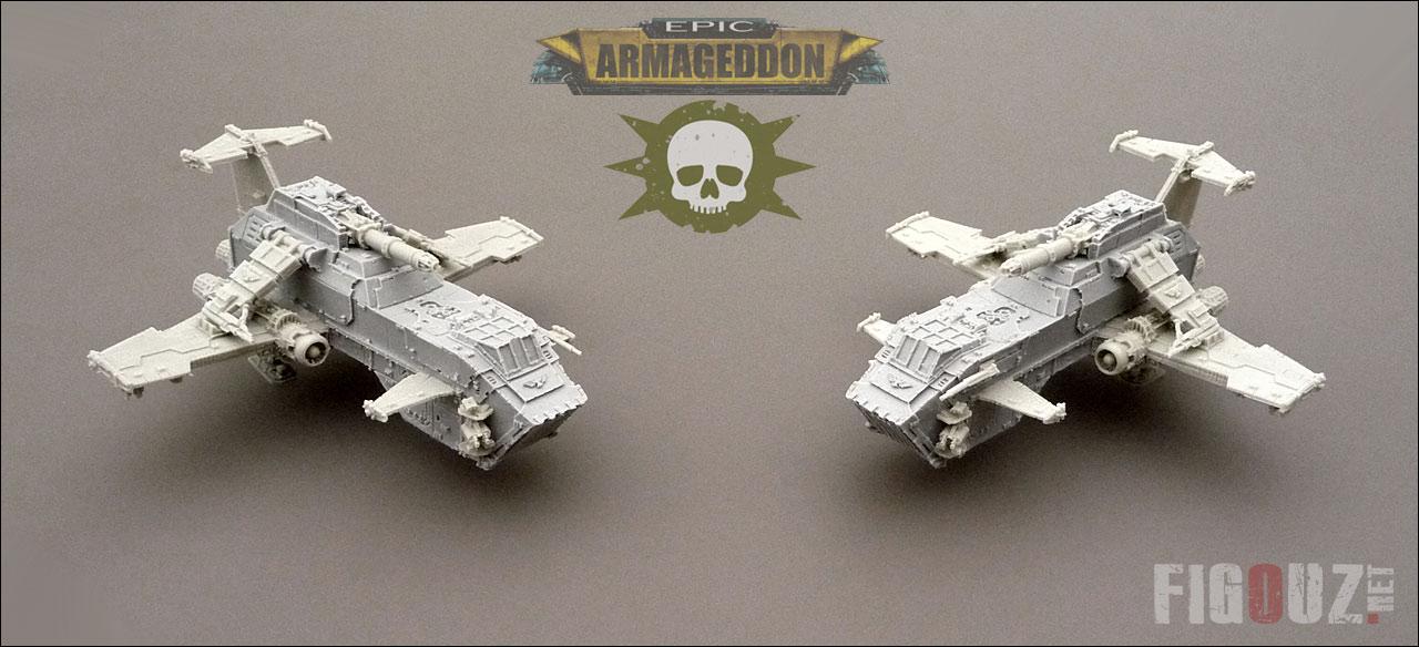 [ECHANGE] THUNDERHAWK GUNSHIP CONTRE THUNDERHAWK TRANSPORTER Epic-horus-heresy-death-guard-tunderhawk-gunship-wip-01