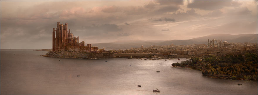 A Game of Thrones - Kings Landing, fief du roi et de la maison Lannister