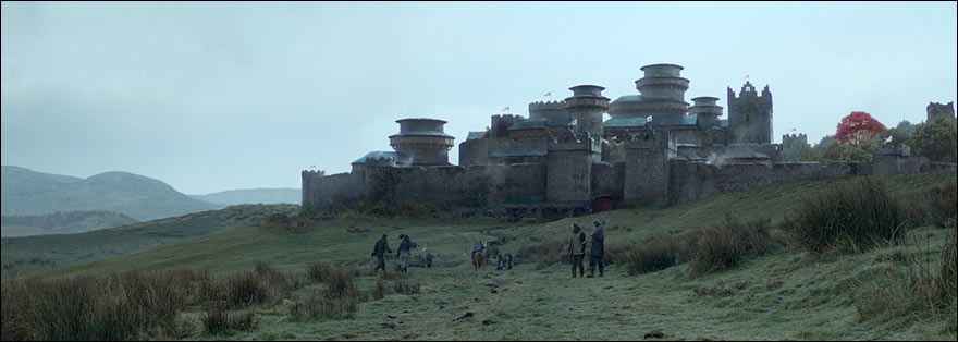 A Game of Thrones - Le château de Winterfell, fief de la maison Stark