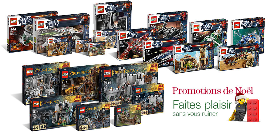Les promos LEGO Star Wars Amazon !