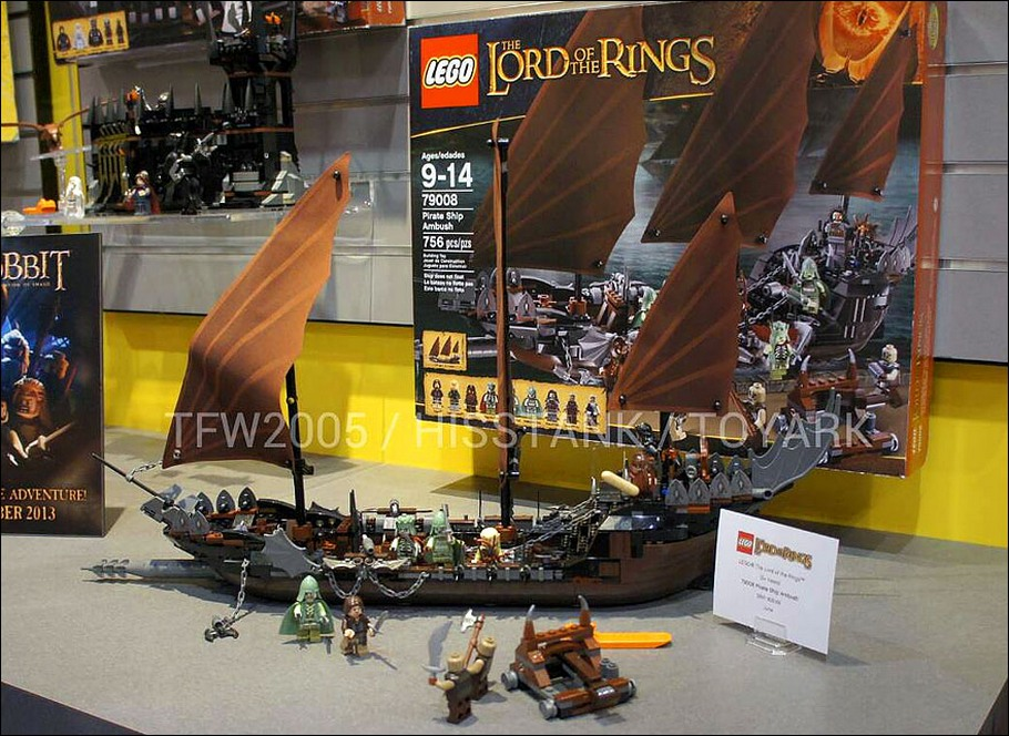 Lego 79008 Pirate Ship Ambush - Nouveauté LEGO Lord Of The Rings 2013 !