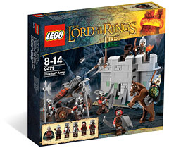 LEGO Lord Of The Rings 9471 L'armée Uruk-Hai