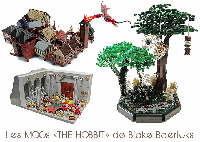 MOCs LEGO Lord Of The Rings et The Hobbit - Par Blake Baericks !