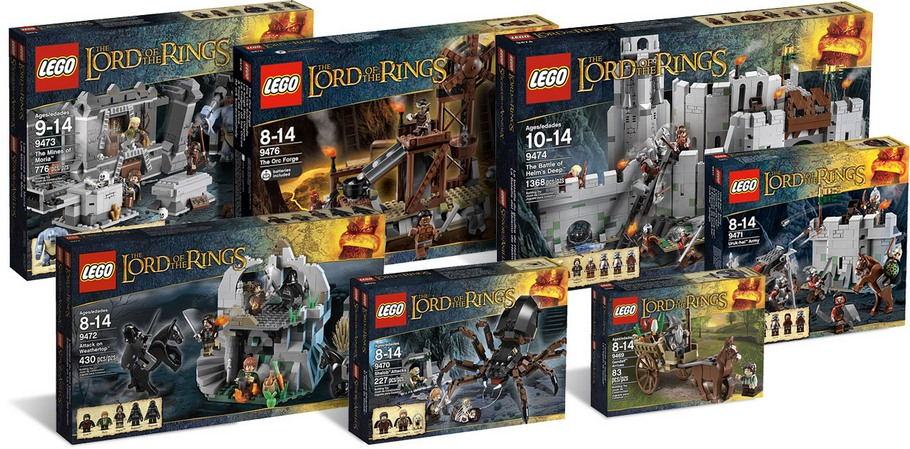 La gamme LEGO Lord Of The Rings !