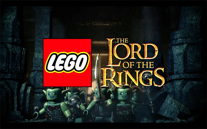 Vidéo LEGO Lord Of The Rings !