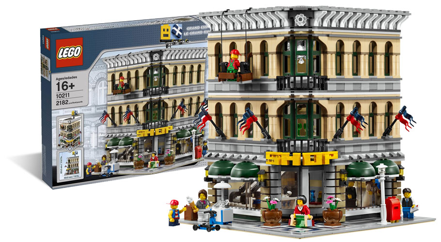 LEGO 10211 Grand Imporium - Le grand magasin -  Modular House