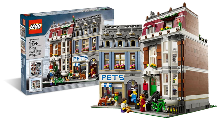 LEGO 10218 Pet Shop - L'animalerie -  Modular House