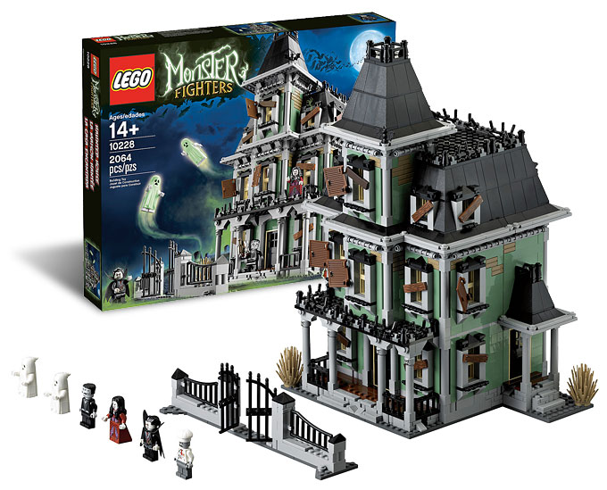 10228 Haunted House - Le set