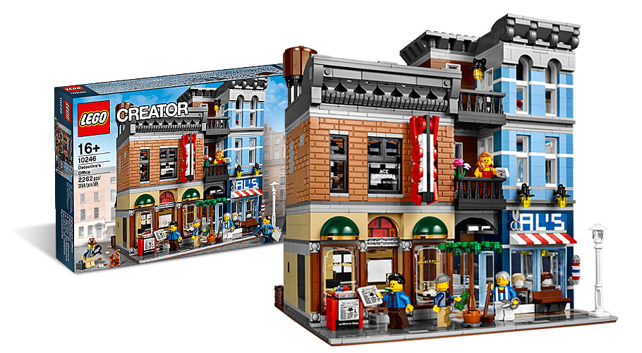 LEGO 10246 - Detective's Office -  Modular House