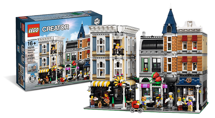 LEGO 10255 - Assembly Square -  Modular House
