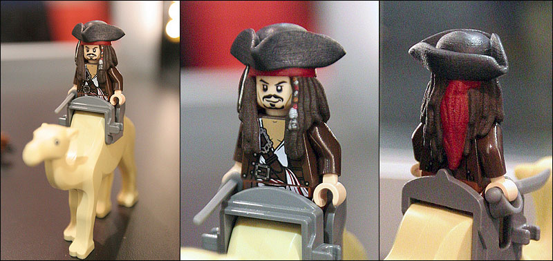 Preview de la minifigurine de Jack Sparrow !