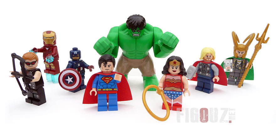 Mes minifigurines LEGO Marvel & DC Comics !