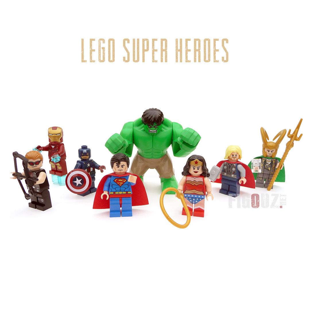 Les archives l 39 actualit du jeu de la figurine et du - Logo super heros ...