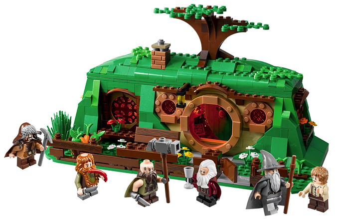 79003 Bag End, premier set de la gamme LEGO The Hobbit
