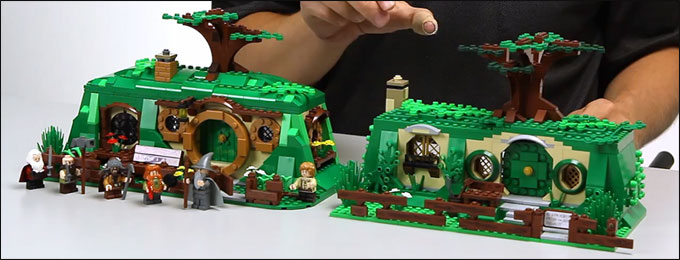 LEGO The Hobbit 79003 - An Unexpected Gathering