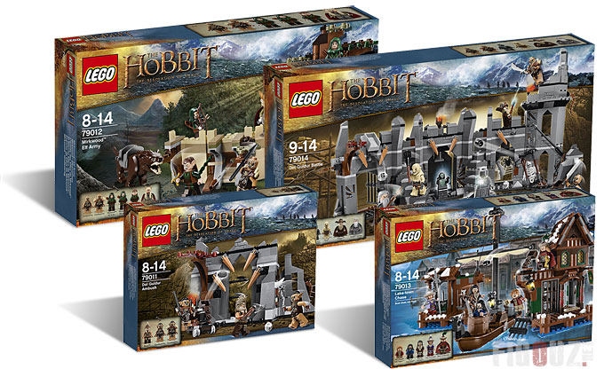 Les minifigurines LEGO The Hobbit !