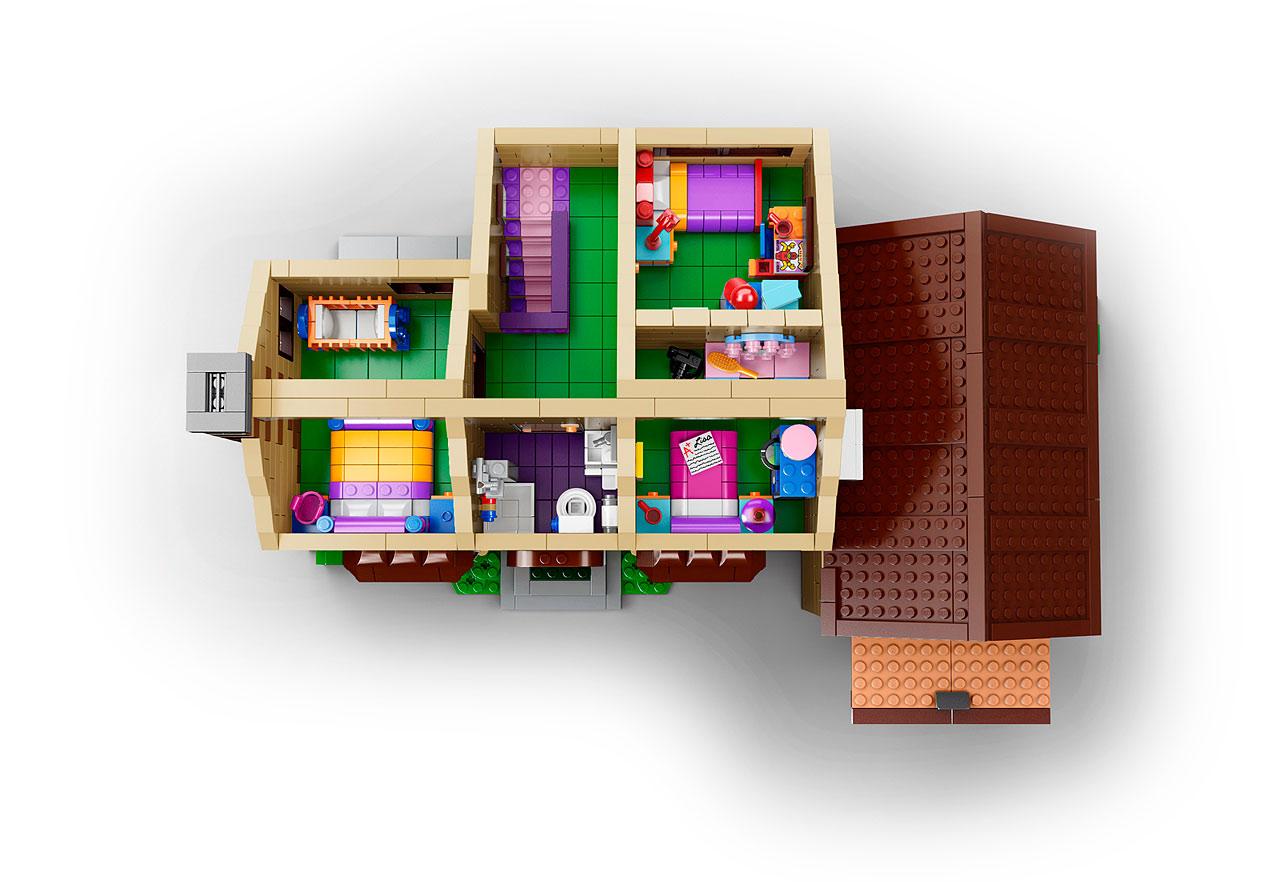 Lego 71006 The Simpsons House La Maison Des Simpson En