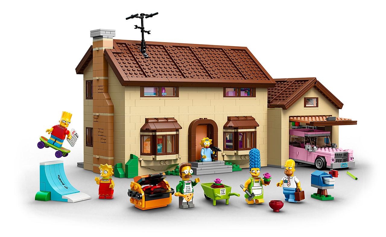 lego 71006 the simpsons house la maison des en