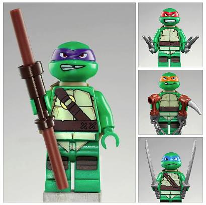 Actu lego l 39 actualit et les nouveaut s lego parues sur en octobre 2012 - Le nom des tortue ninja ...