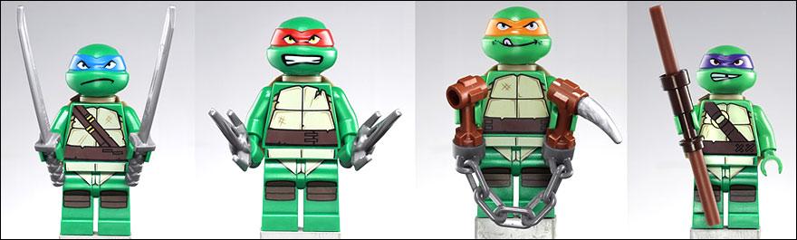 Les archives l 39 actualit du jeu de la figurine et du lego parue sur en octobre 2012 - Le nom des tortue ninja ...