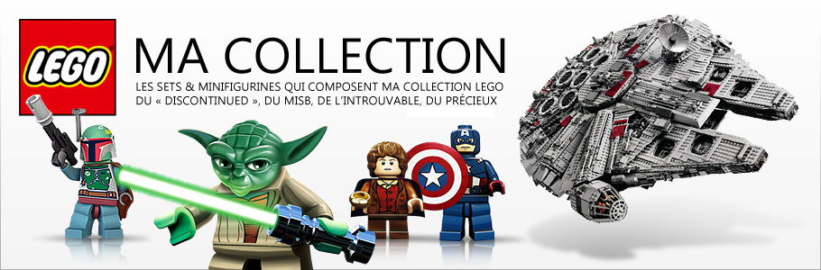 Ma collection LEGO !