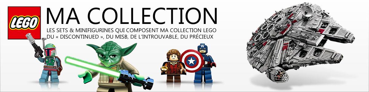 Ma grande collection LEGO