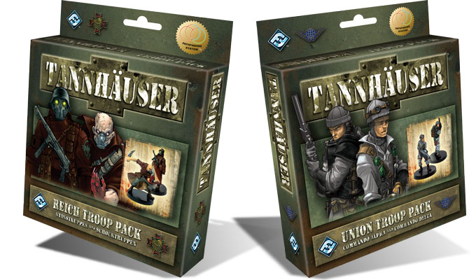 Tannhauser - Les Single Packs de troupes !