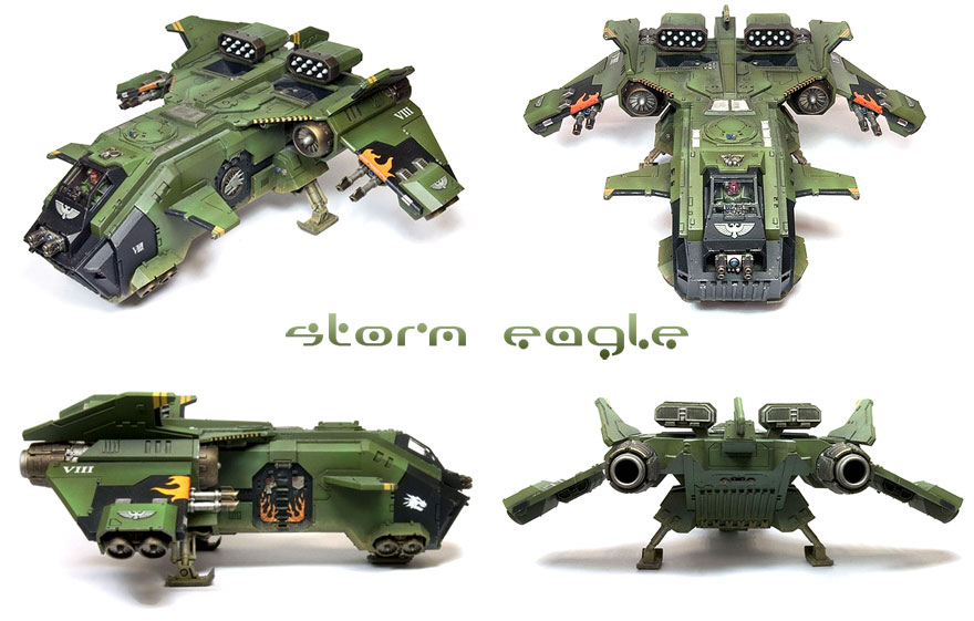 Le nouveau kit Forge World Storm Eagle !
