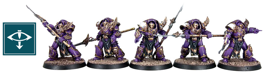 HORUS HERESY EMPEROR'S CHILDREN PHEONIX GUARD TERMINATORS !