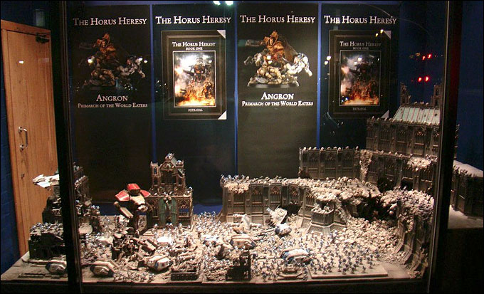Istvaan Battle Diorama - Warhammer World