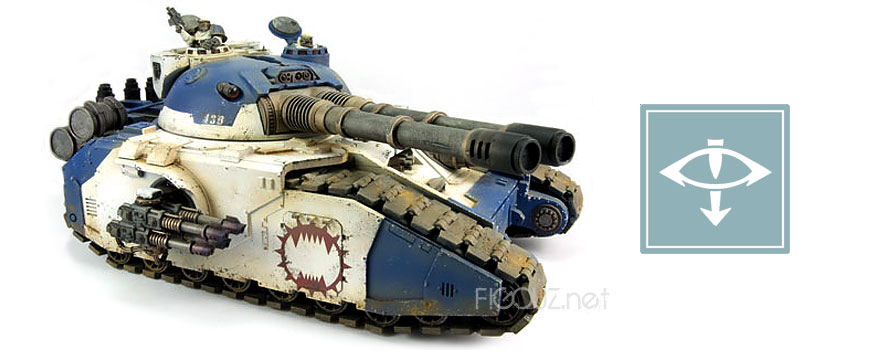 Fellblade Super Heavy Tank - Horus Heresy