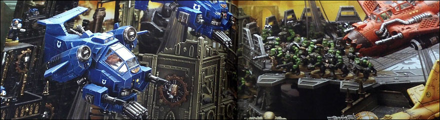 Death From The Sky ! Les volants pour Warhammer 40 000 !